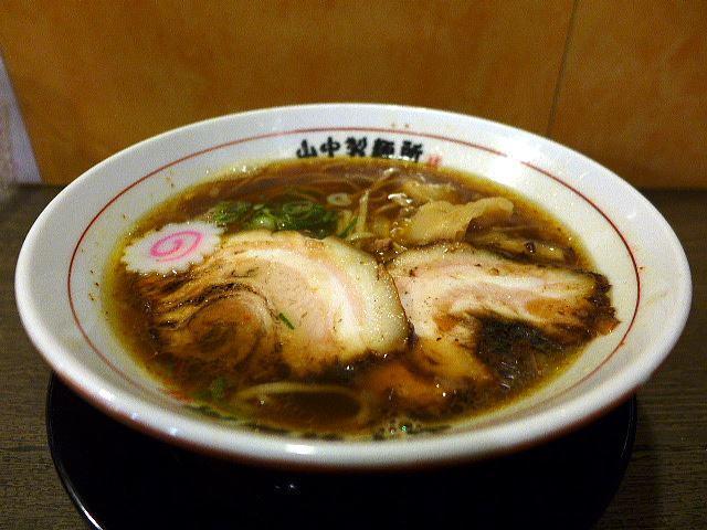 山なか製麺所@01醤油らーめん 1