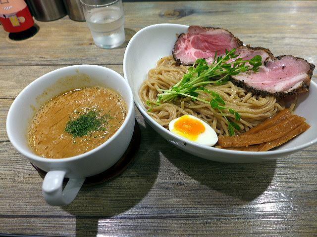 アノラーメン製作所@03Kani soup ツケメン その2 1