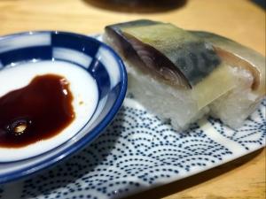 サバ6製麺所 本店@02サバ濃厚鶏つけ麺+サバ寿司 4