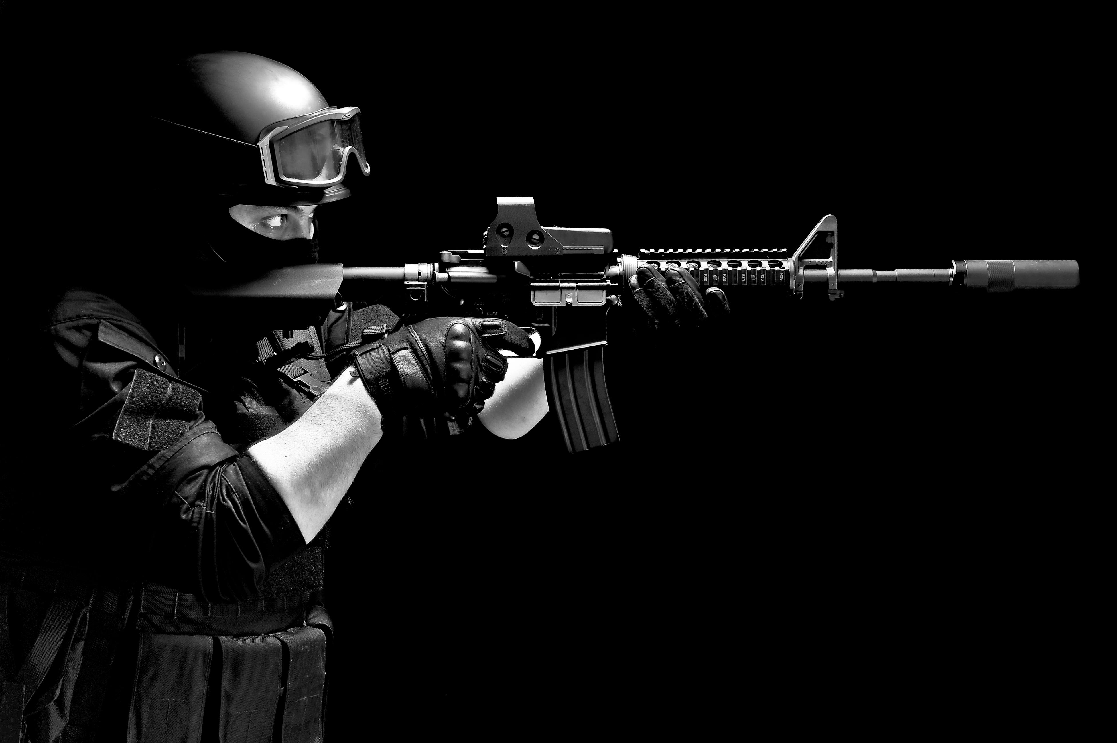 アメリカ警察官,SWAT,特殊部隊