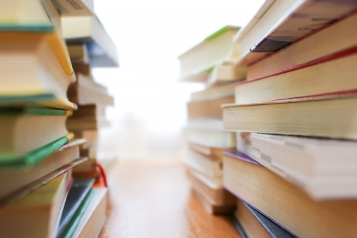 図書館の本,貸し出し本