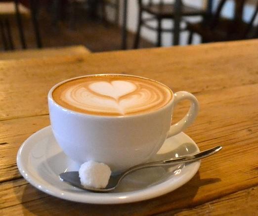 カフェ店コーヒー