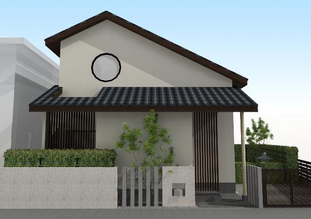 滋賀県大津市 開放感のある和モダン注文住宅プラン!デザインファーストのご提案!