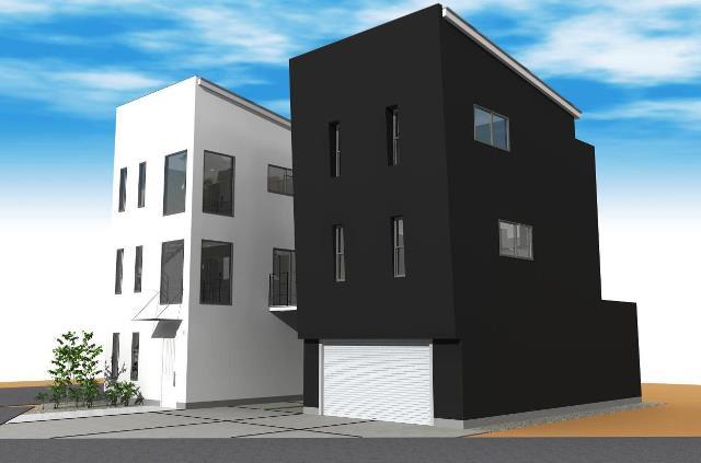 愛知県小牧市 木造3階建注文住宅プラン!デザインファーストのご提案!