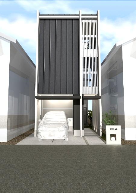 京都府宇治市 無垢床材の温もりがある家注文住宅プラン!デザインファーストのご提案!