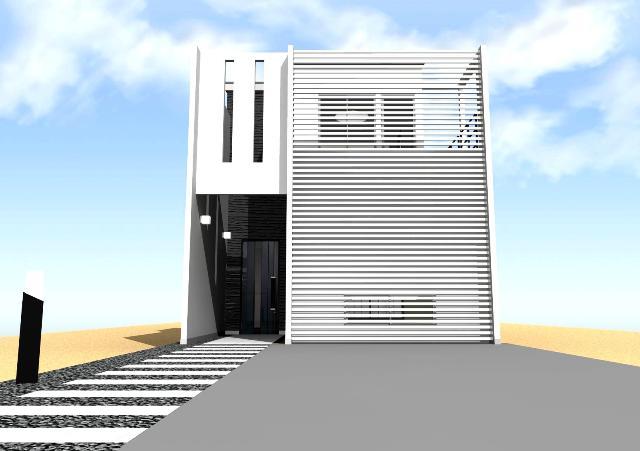 京都市北区 狭小間口の全室明るい注文住宅プラン!