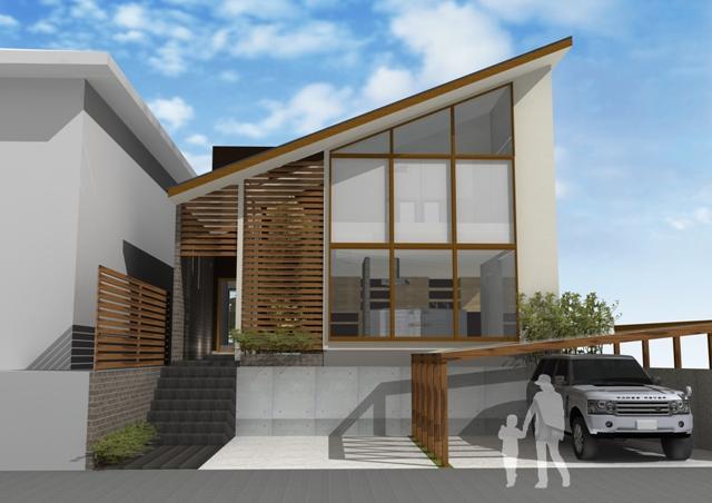 注文住宅 モダン住宅,デザインファースト一級建築事務所,工務店,京都市の高級住宅,シンプルモダンな家