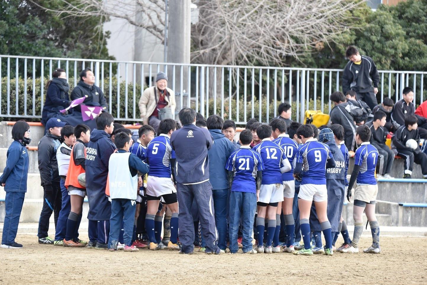 2018年1月13日 新人戦 予選リーグ VS亀岡