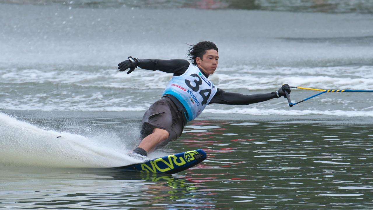 Masaru Miwa 2016WUC Pre' Slalom