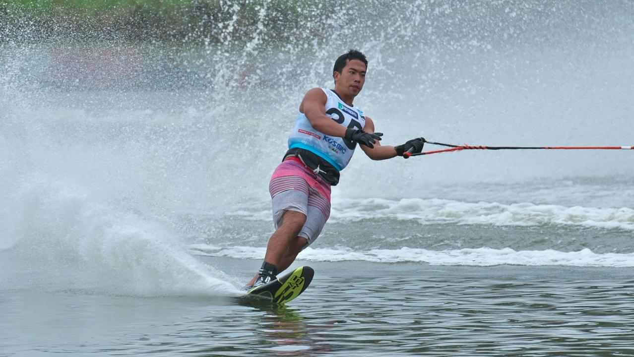 Jun Shimura 2016WUC Pre' Slalom