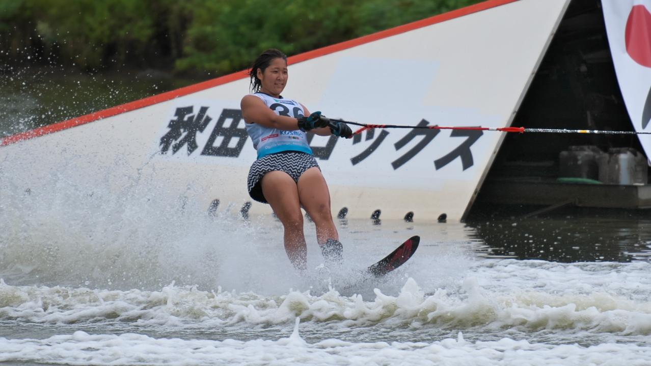 Kanna Terada 2016WUC Pre' Slalom
