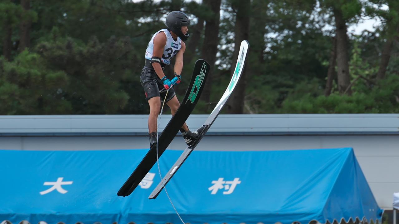 Ryota Funo 2016WUC Pre' Jump