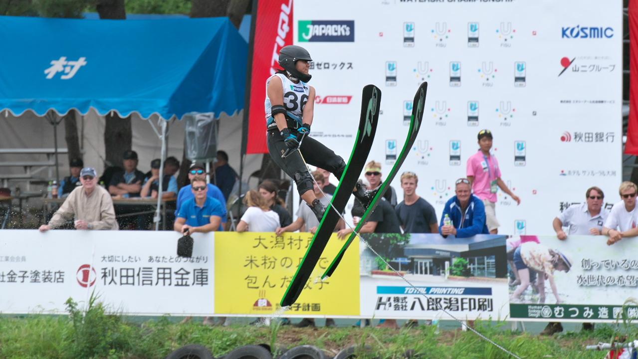 Kanna Terada 2016WUC Pre' Jump
