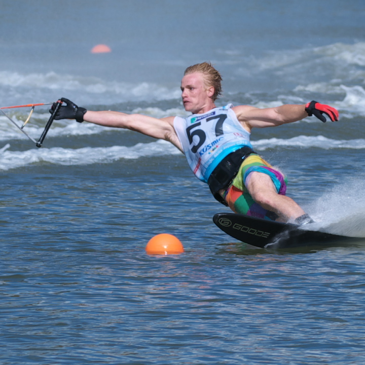 Dane Mechler (USA) 2016WUC Final Slalom Champion