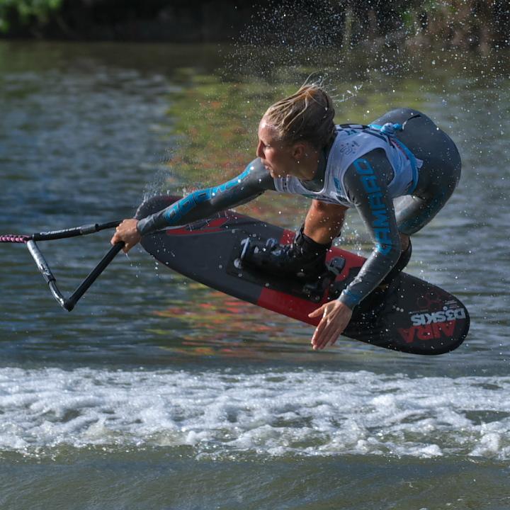 Giannina Bonnemann (GER) 2016WUC Final Trick Champion