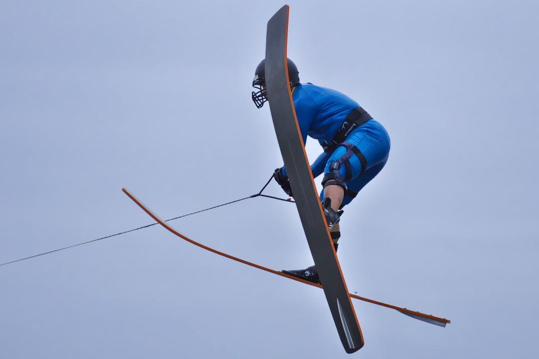 田中嘉栄選手(立4)2015CS2 M's Jump 2位
