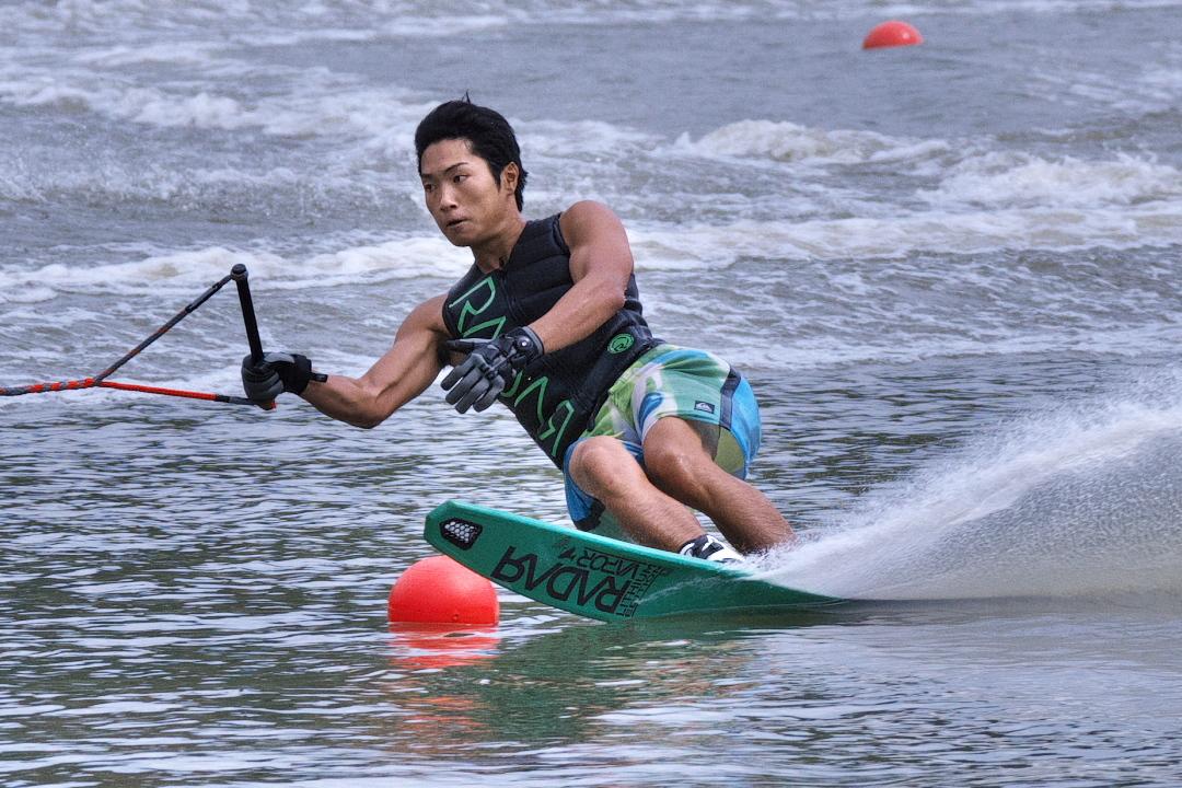 布野遼太選手(明3)2015JCCW M's Slalom 優勝