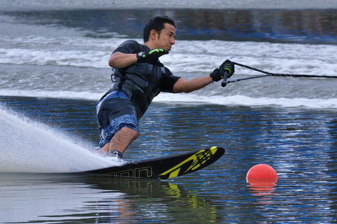 高田J浩平選手(立4)2015JCCW M's Slalom 3位