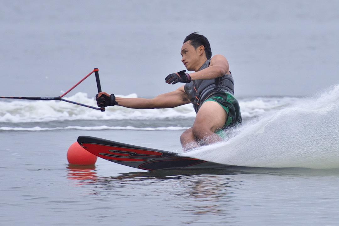 田中大地選手(福4)2015CS2 M's Slalom 3位