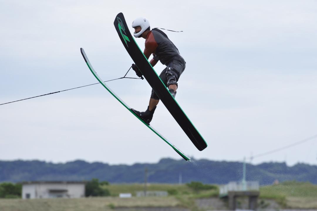 矢島航太郎選手(學4)2015CS1 W's Jump 優勝