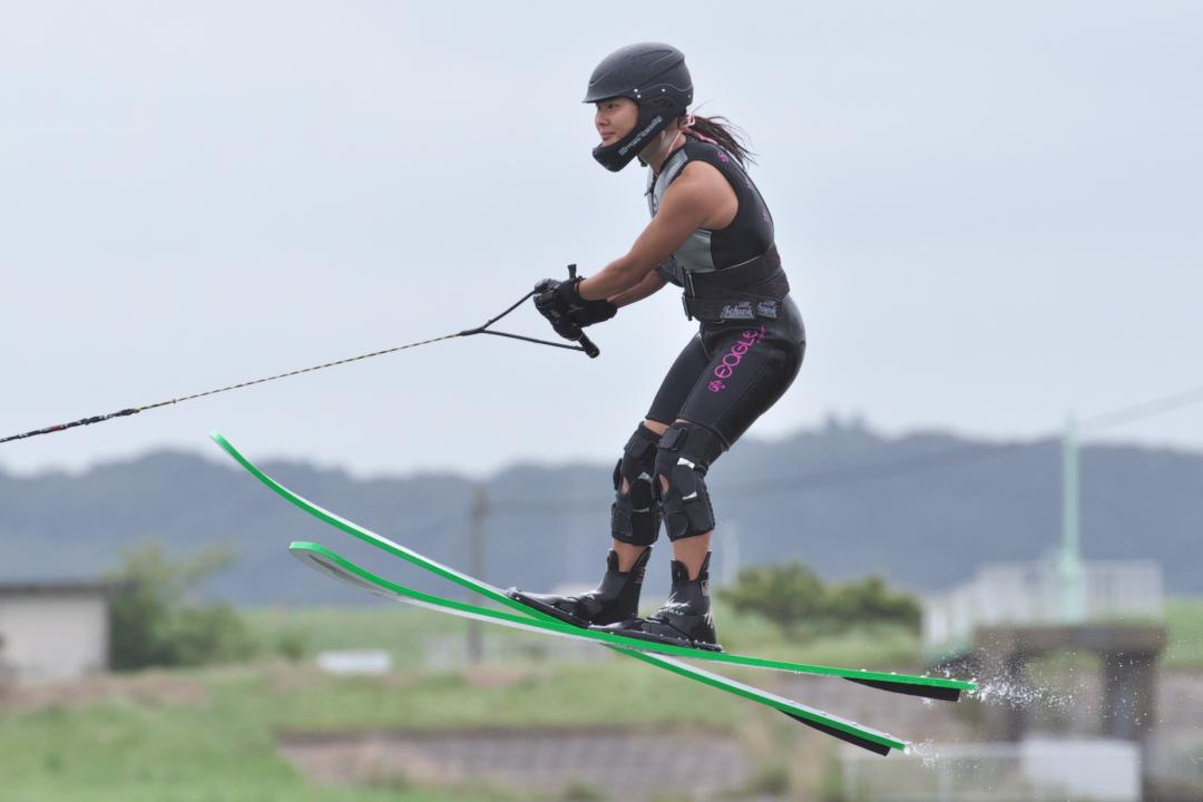 九原沙梨選手(日4)2015CS2 W's Jump 2位