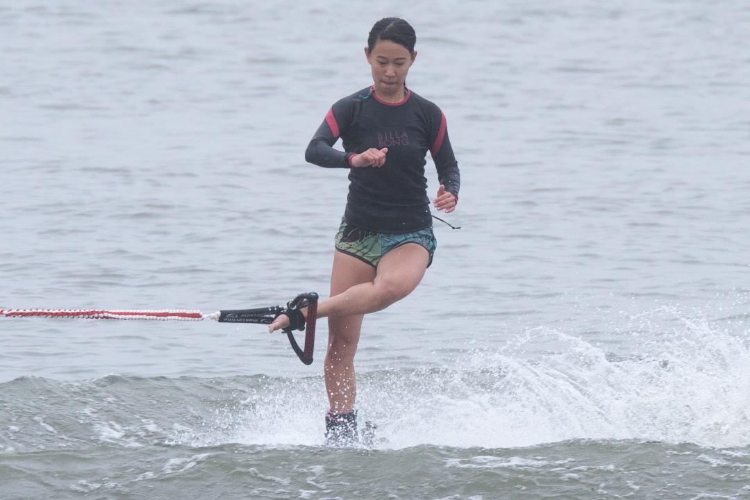 飯村真帆選手(立3)2015CS2 W's Trick 2位