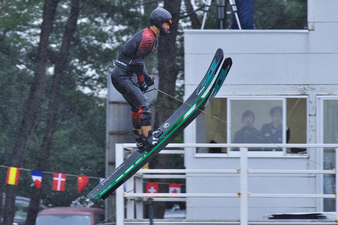 谷川正倫選手(立4)2015JCCW M's Jump 2位