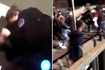 【苦笑】フランスで女性警官に暴行・・・国の恥!