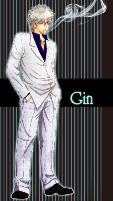 「銀魂」GIN(坂田銀時)