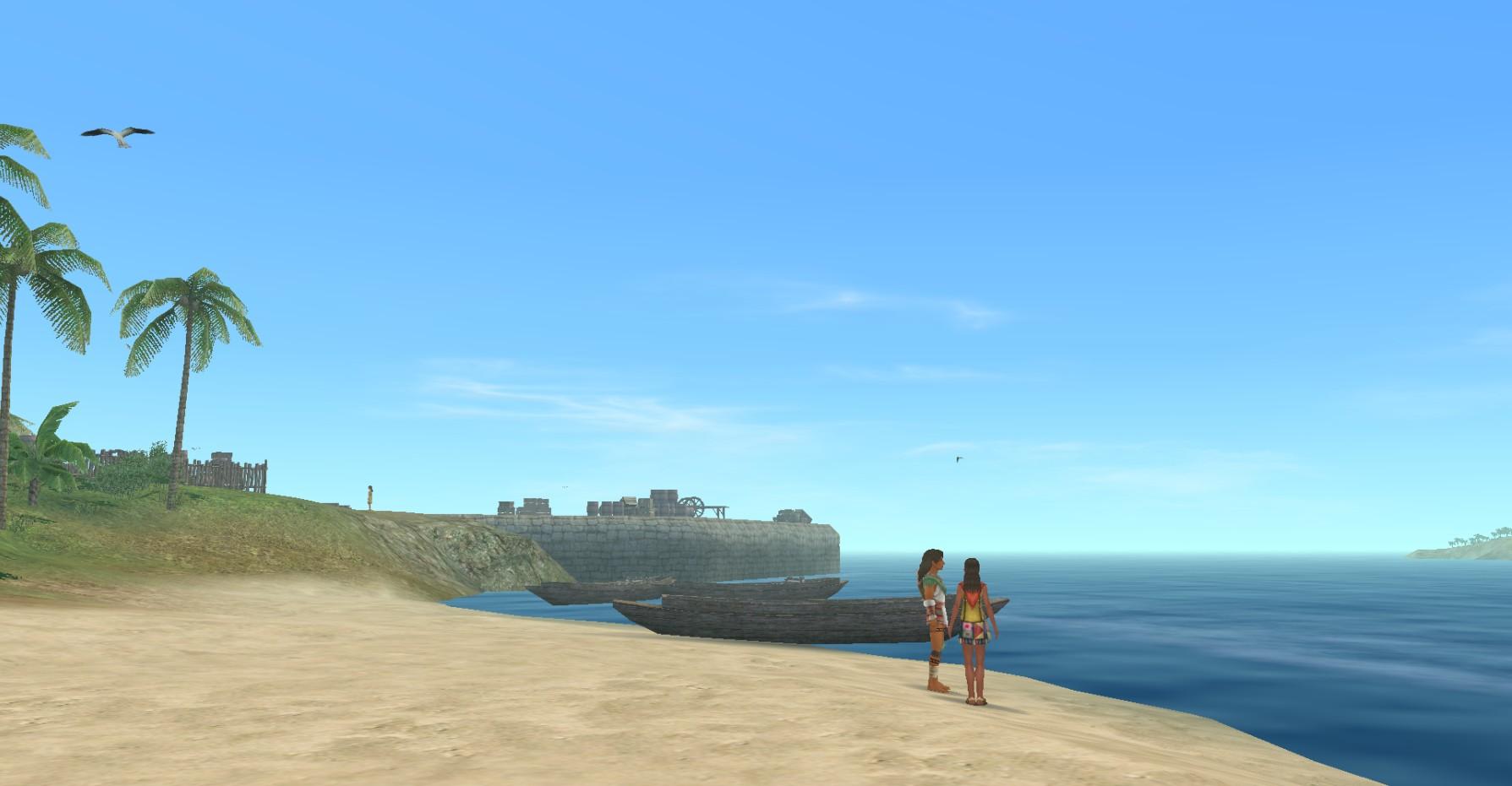 ポルトベロ海辺