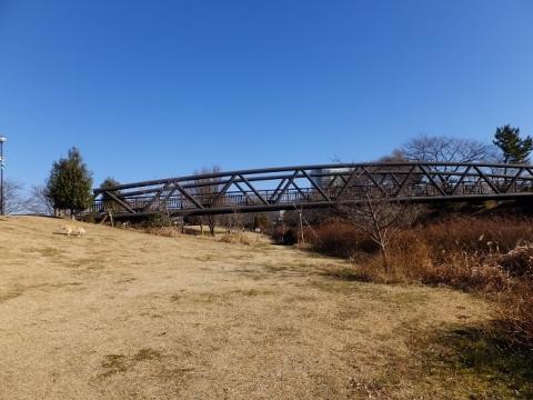 鳩川に架かるさくら橋