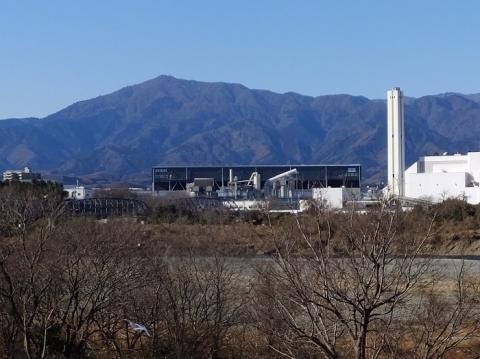 相模三川公園より大山を望む