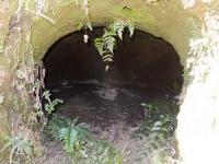 鳩川隧道分水路の防空壕?