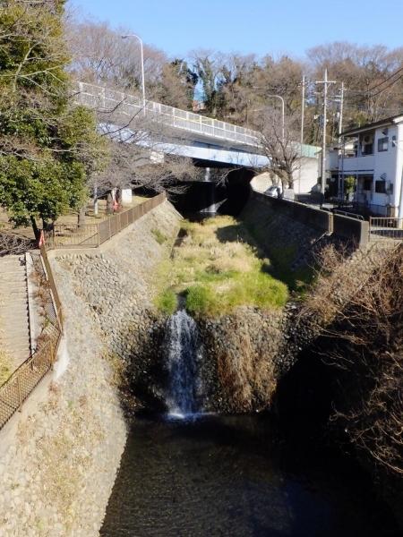 鳩川分水路・新三段の滝