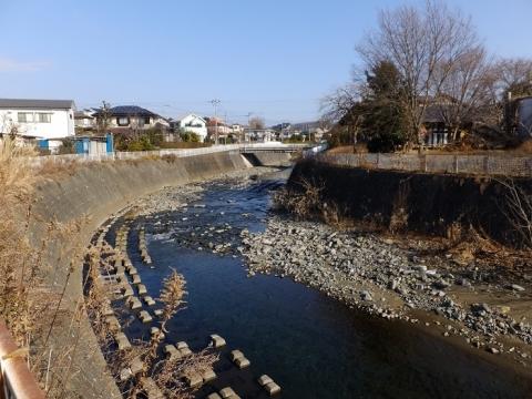 鳩川・八幡橋下流