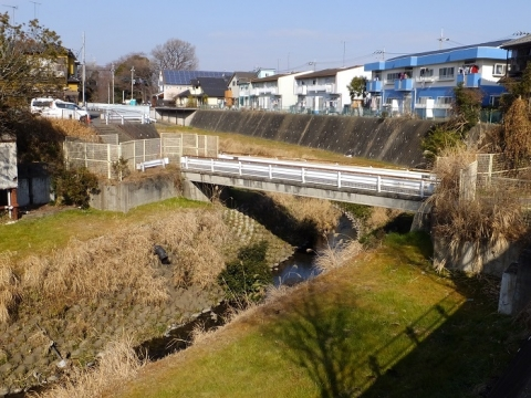 鳩川の水道橋