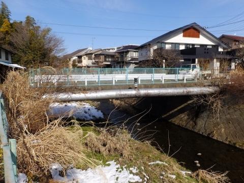 鳩川の田尻橋