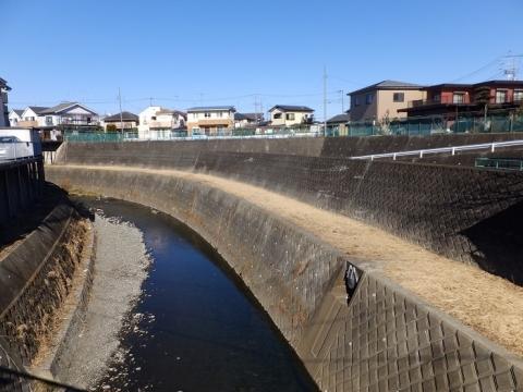 舛田橋より姥川上流を望む