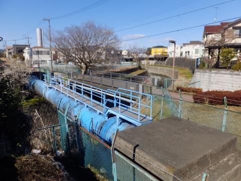 横浜水道みち・中の沢水管橋