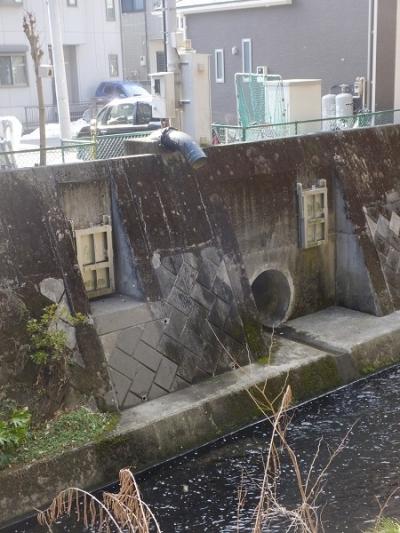 姥川右岸雨水管