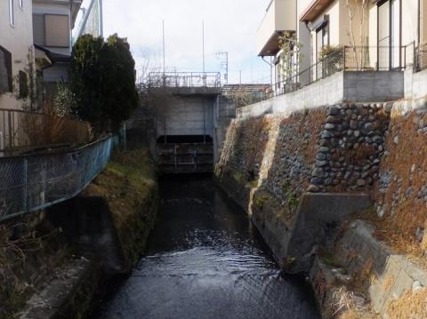 姥川第一雨水幹線吐口