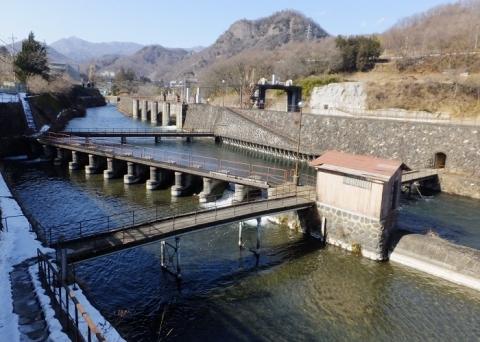 八ツ沢発電所・取水施設