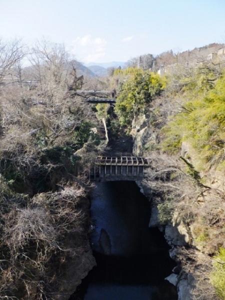 八ツ沢発電所第一号水路橋・大月市猿橋
