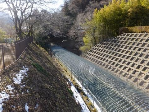 八ツ沢発電所第3号隧道出口