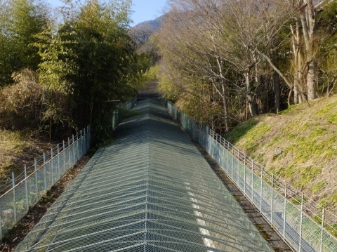 八ツ沢発電所第5号隧道出口