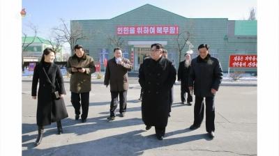 20180126 경애하는 최고령도자 김정은동지께서 평양제약공장을 현지지도하시였다(1)mp4_000531114