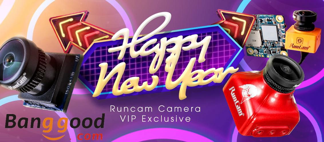 RunCam VIP Happy NEW YEAR Sale
