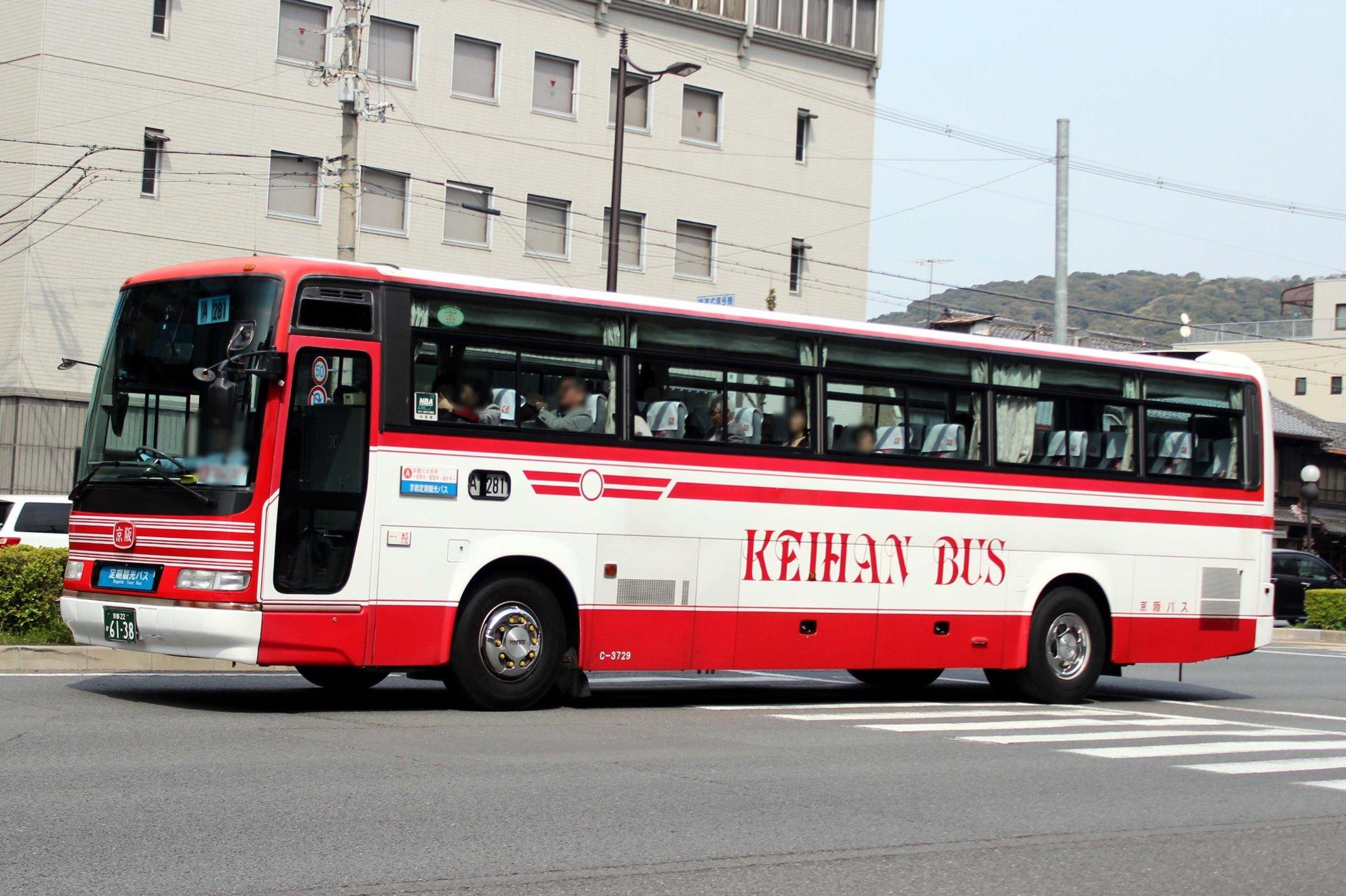 京阪バス C-3729