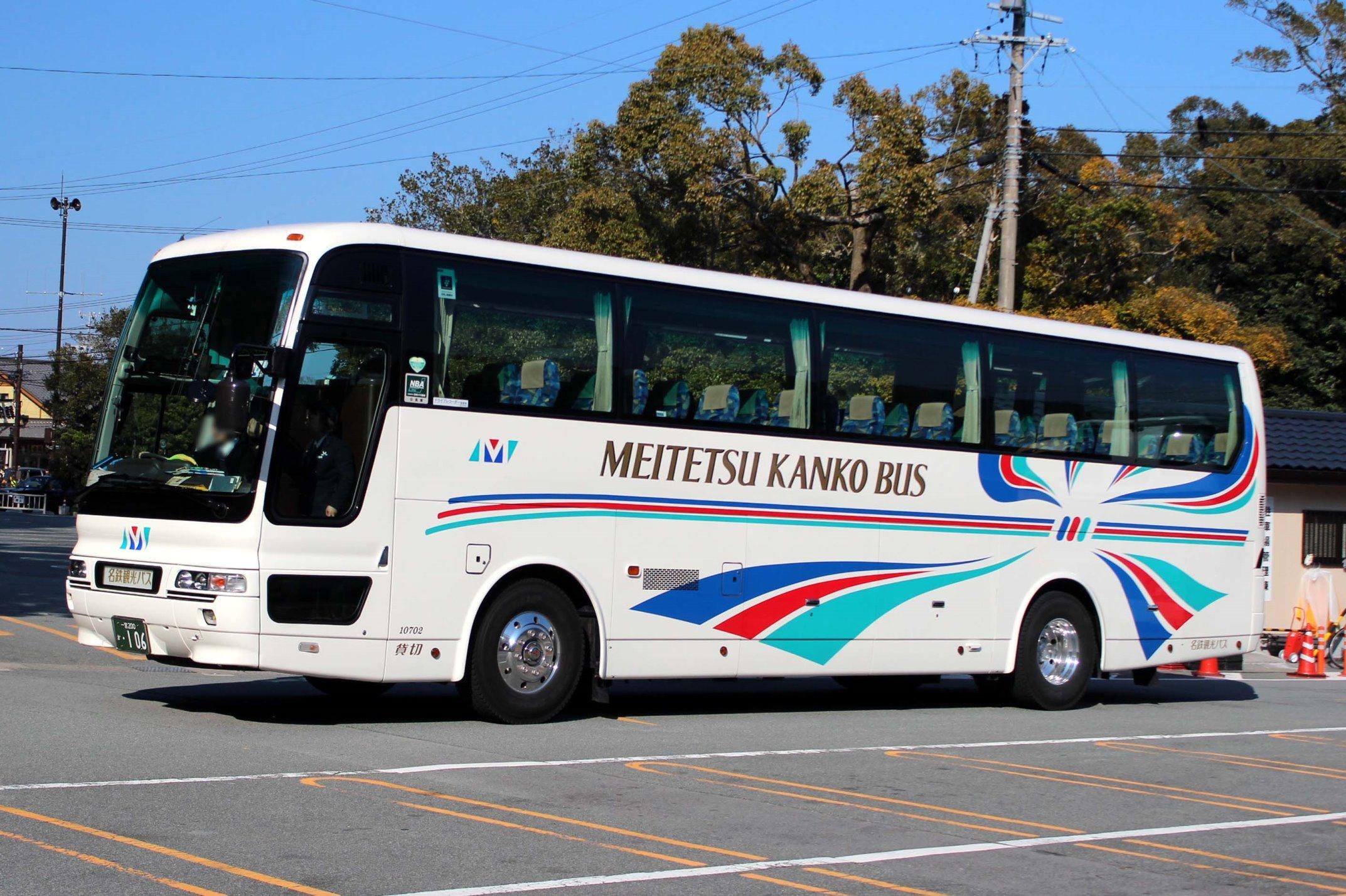名鉄観光バス 10702