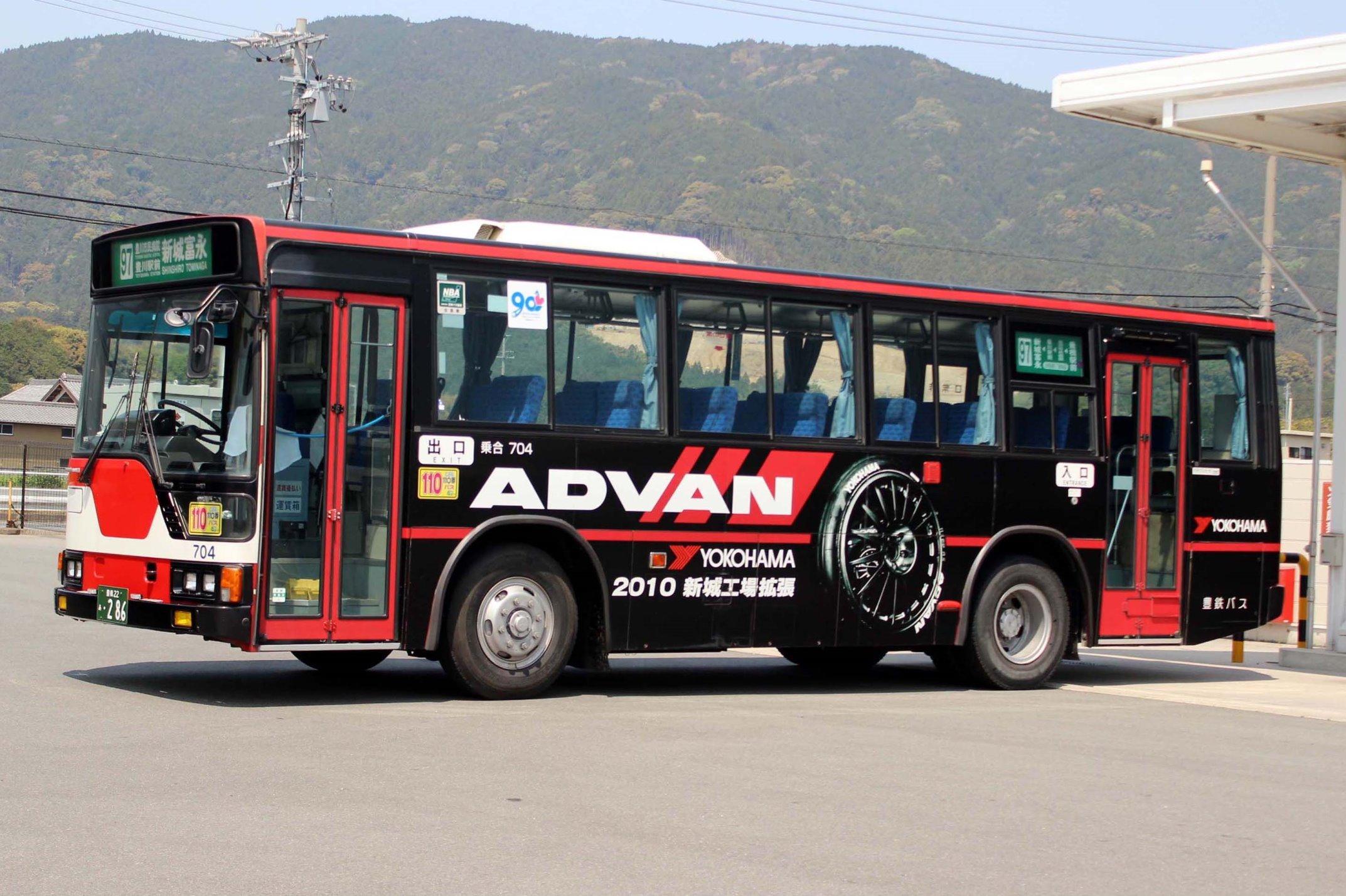 豊鉄バス 704